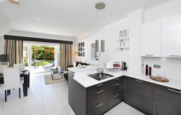 Studio Fourteen Interiors Show Home Kitchen