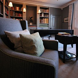 Private Library - Studio 14 Interiors