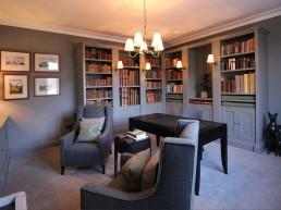 Private Library - Studio Fourteen Interiors