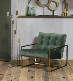 Green and Gold Chair