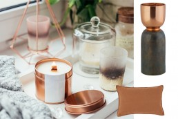 Copper Display in Earth Colours