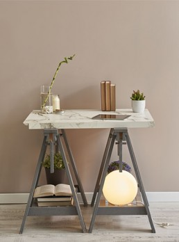 Earth Tones Marble Table