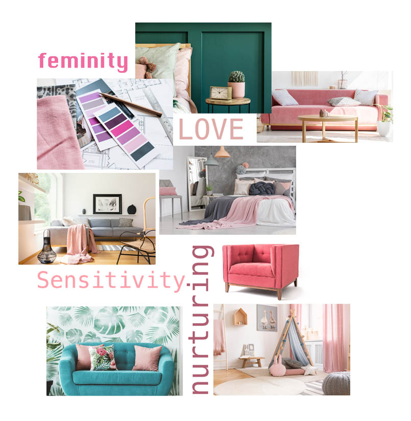 Psychology of colour - Pink