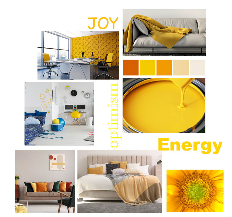 Psychology of colour - Yellow