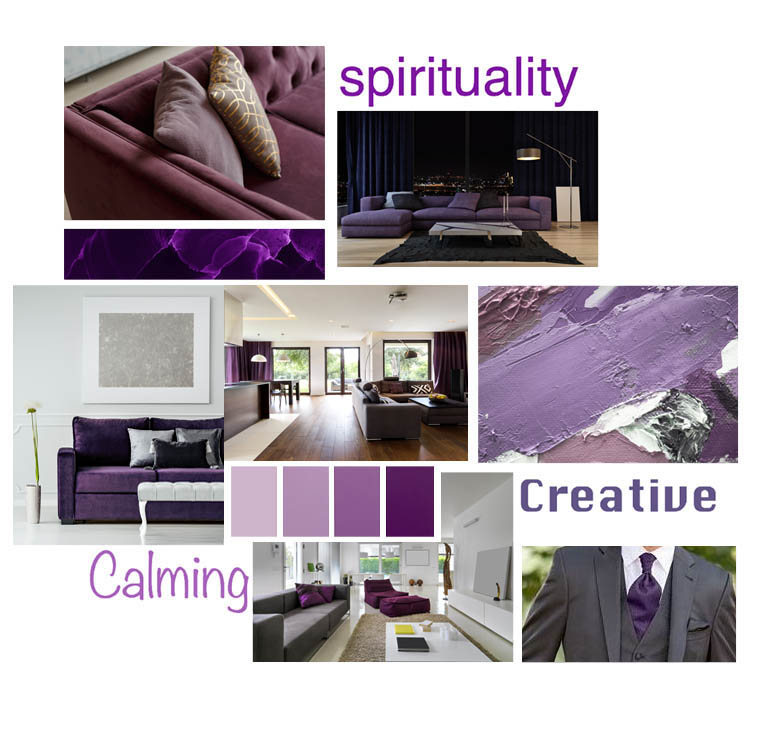 Psychology of Colour - Purples